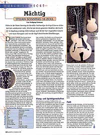 Jazz guitar review